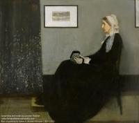 Whistler's mother as she posed.jpg