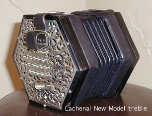 Lachenal New Model treble concertina