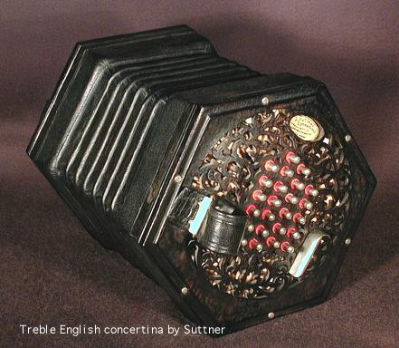 Treble concertina by Juergen Suttner